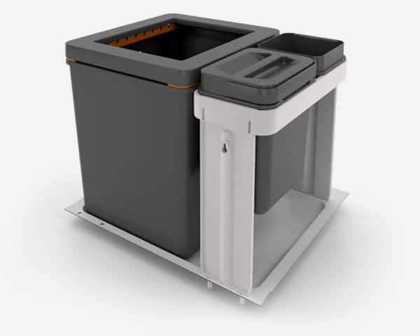 Partner for quality plastic goods - Müllex waste bin systems for the kitchen