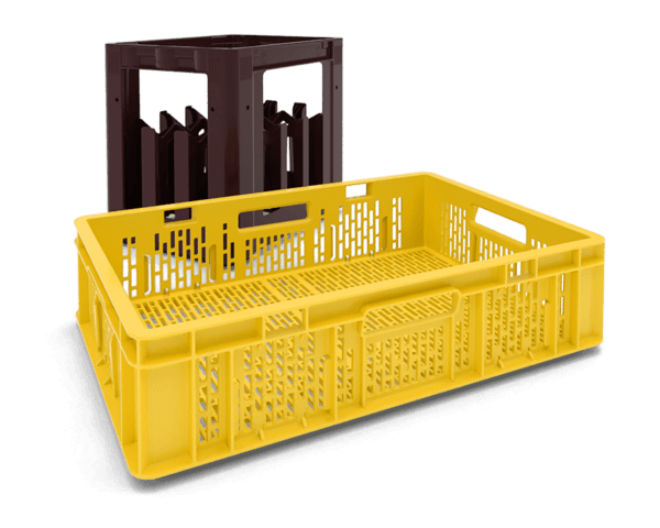 Partner for quality plastic goods - bins and bottle cradles